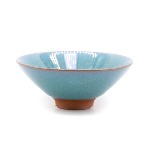 Чашка бирюза семья Сань ши 65 мл