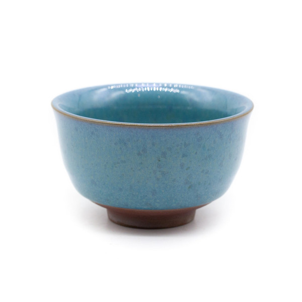 Чашка глина Нефритовая глазурь 80 мл