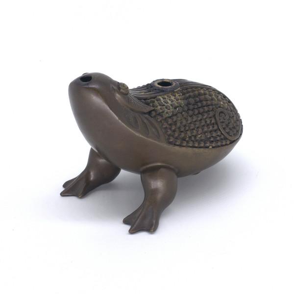 """Курильница для обратных конусов """"Трёхлапая жаба"""""""