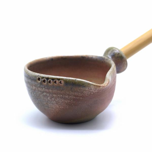 Черпак для тайваньского заваривания глина дровяной обжиг