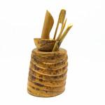 Инструмент набор корень бамбука