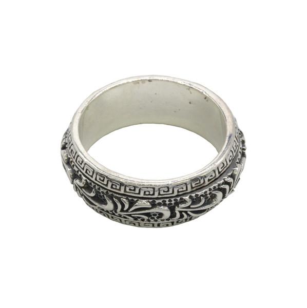 """Кольцо, серебро """"Орнамент"""", 20,5мм"""