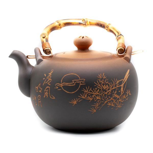 Чайник для воды красная печать сосна 1200 мл