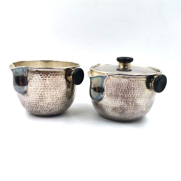 Набор серебро чайник и чахай