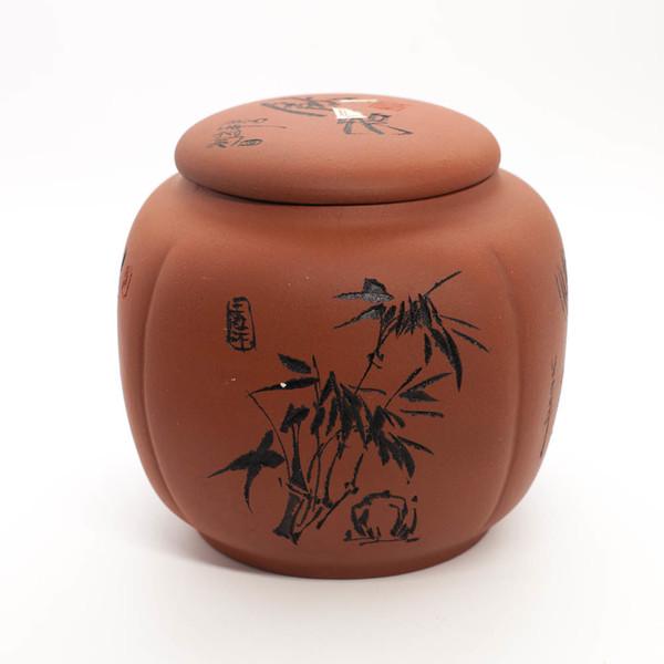 """Чаегуань глина """"Бамбук и водяная лилия"""""""