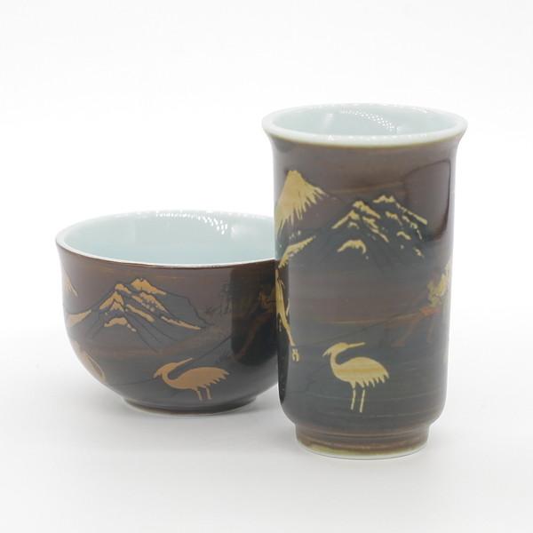 """Чайная пара """"Горы и Воды"""" Тайвань 40 мл"""
