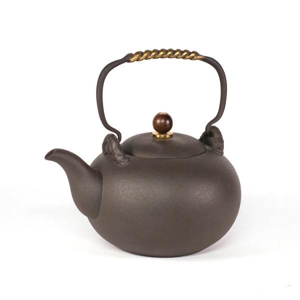 Чайник для воды глина 1200 мл