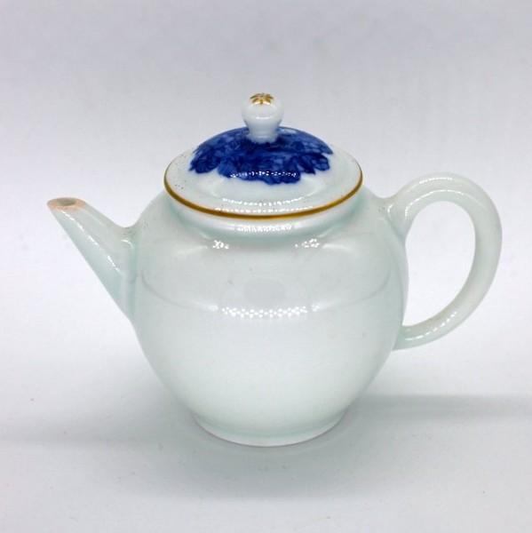 """Чайник фарфор из Цзиндэчжэнь """"Цветочный узор"""" 120 мл"""