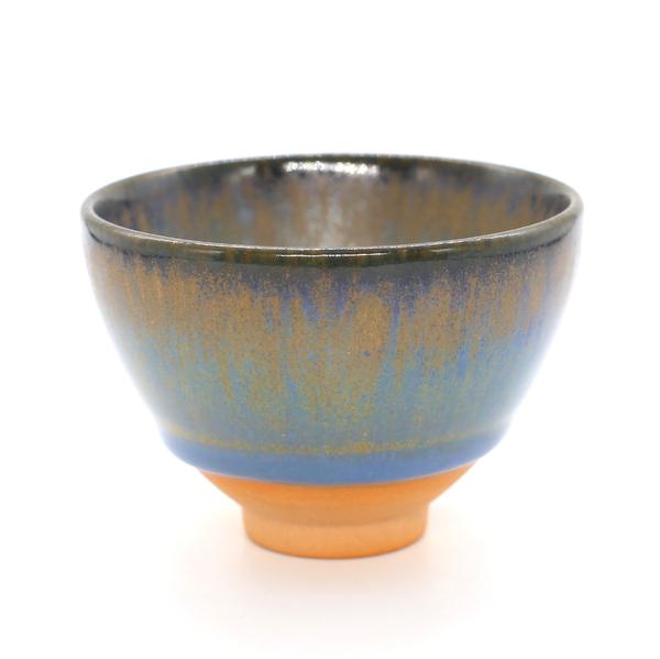Чашка глина глазурь Тьен Му Кроличий мех 130 мл