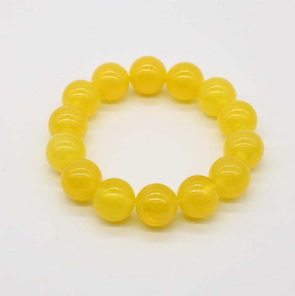 Четки-браслет , Янтарь, Жёлтый