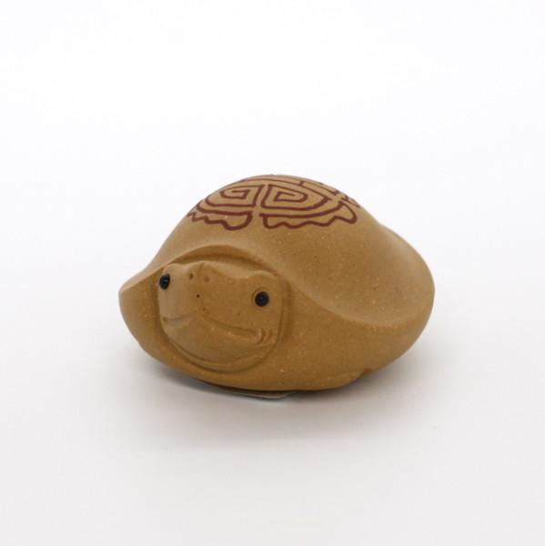 "Фигурка глина ""Черепаха"", желтая"