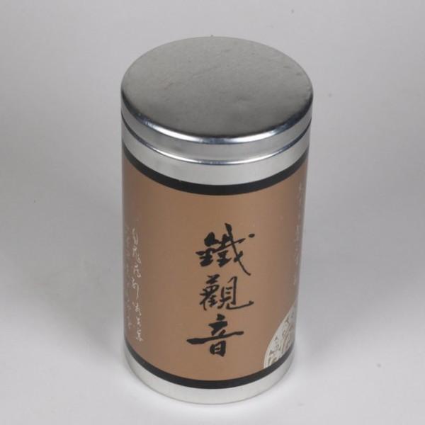 Баночка для чая жесть 110мм