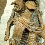 "Скульптура ""Жезл Жуи"", жезл исполнения желаний"