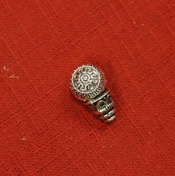 Голова Будды металл
