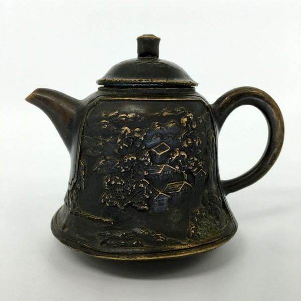 Чайник бронза 04-18