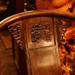 Кресло-трон, Венге