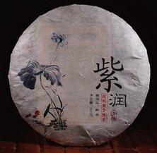 Чай Пуэр Шу Цзы Жун Цзы Я Гу Шу Чхунь Льяо Бин '08 №1000