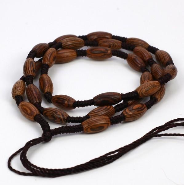 Верёвка для предметов из Венге, в ассортименте
