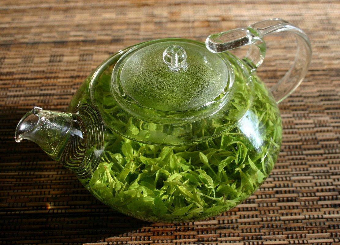 считаем картинки зеленого чая в чайнике найдете